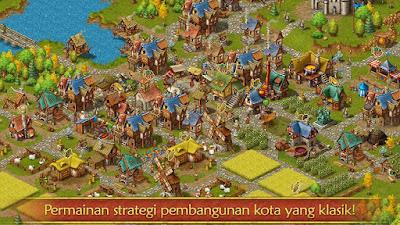 Tampilan Game Townsmen Premium