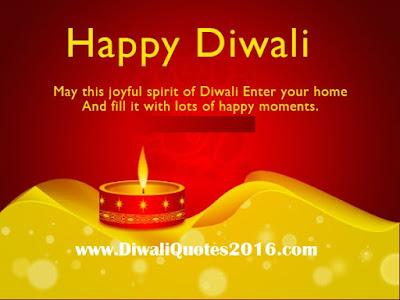 Happy Diwali Sayings {2016}
