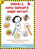 Books: Chumki & Aunty Gudgudi's Magic Mirror by Purnota Dutta Bahl and Happy Fish (Age: 5+ years)