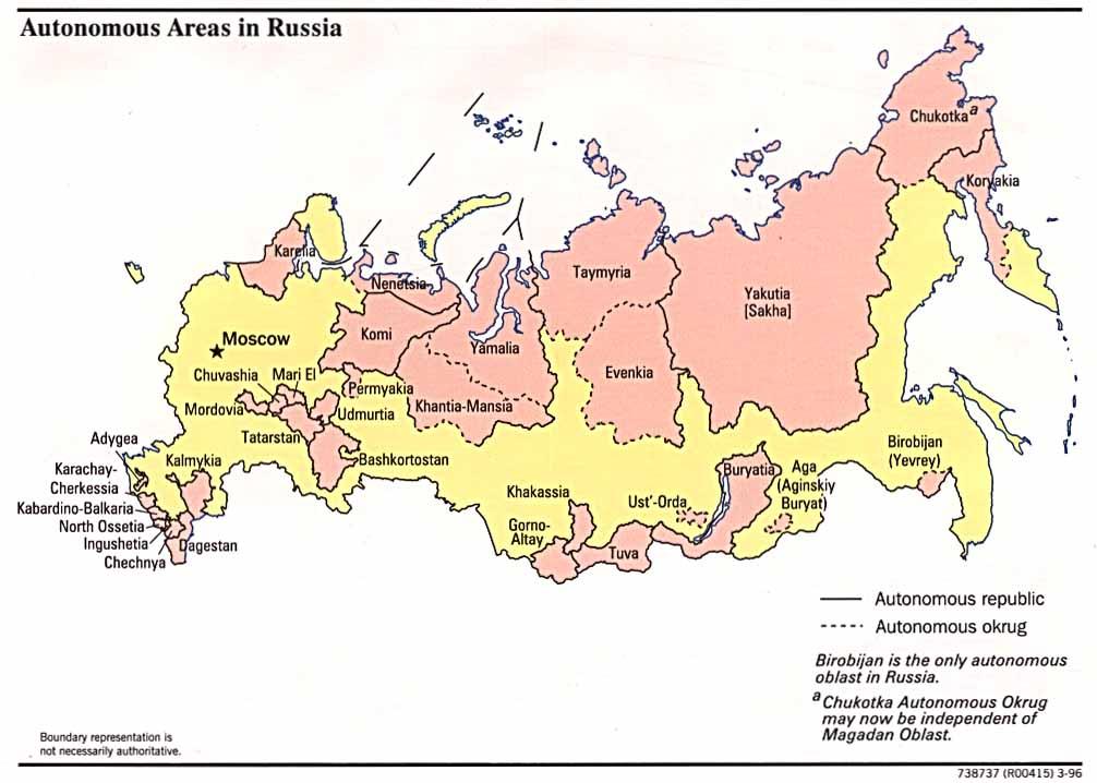 Russia | Mapas Geográficos da Russia