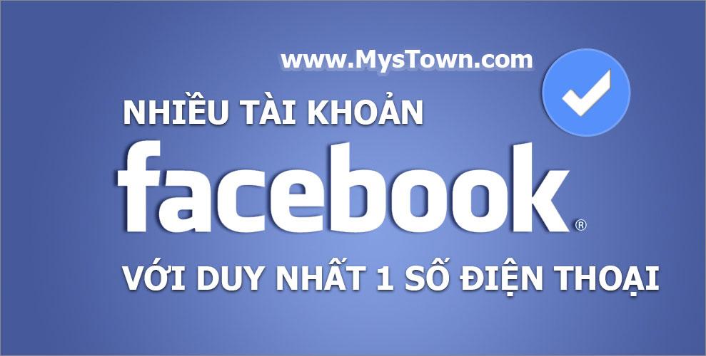 facebook nhieu tai khoan