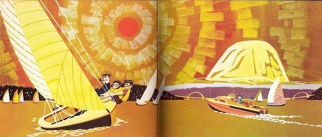 Merrill Grant, sailing, sunny