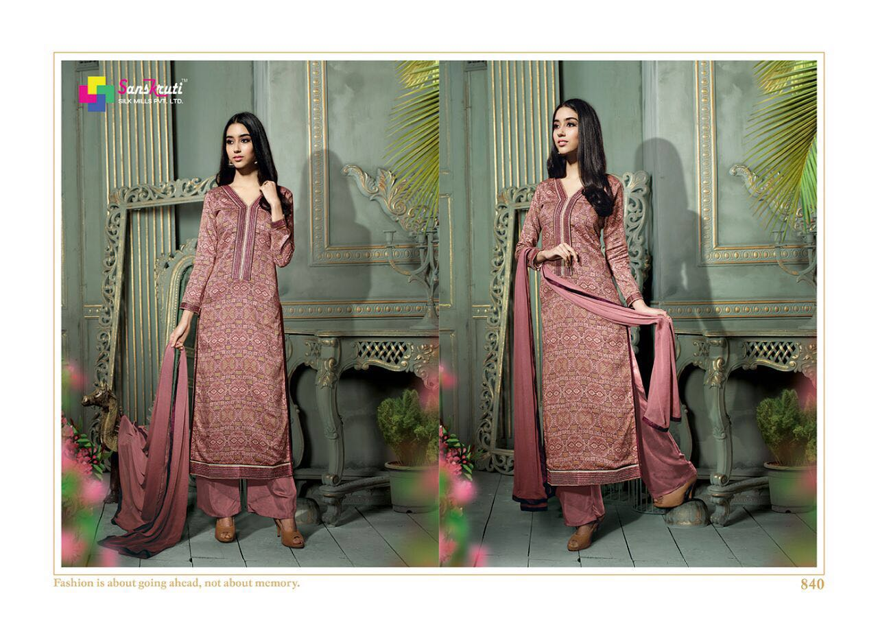 SITARA-Cotton Print Work With Designer Dresss Material