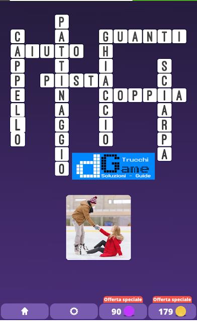 Soluzioni One Clue Crossword livello 16 schemi 4 (Cruciverba illustrato)  | Parole e foto