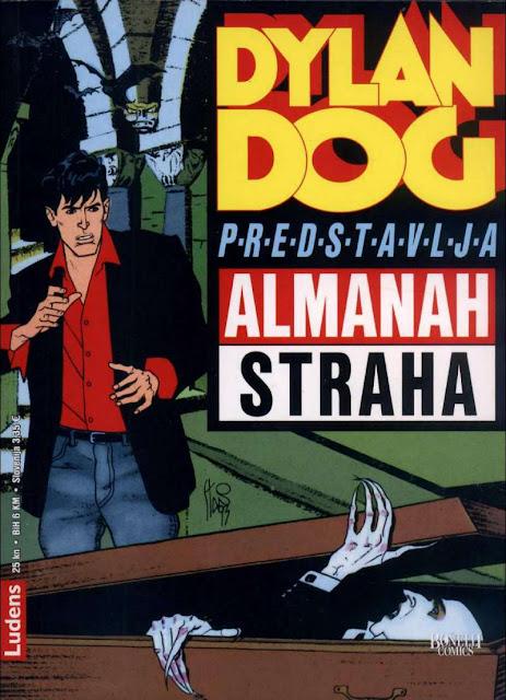 Vrag iz boce - Povratak vampira - Almanah Straha Ludens - Dylan Dog