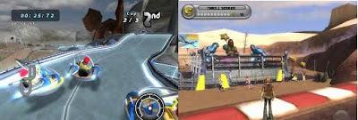podran ver una captura de uno de los juegos y en la otra, como se vería el personaje.