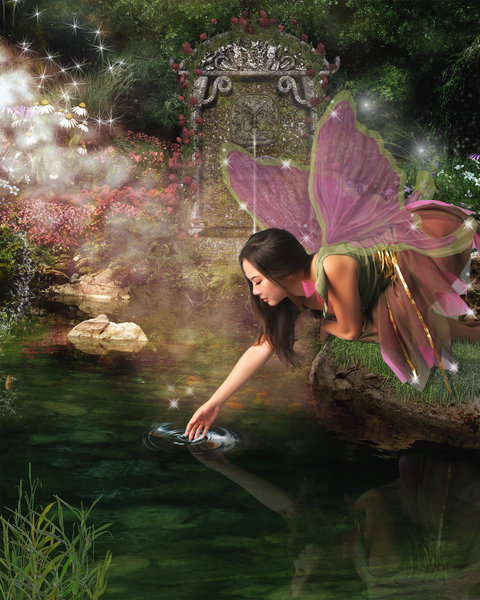 Galactic awakening and healing: Faeries