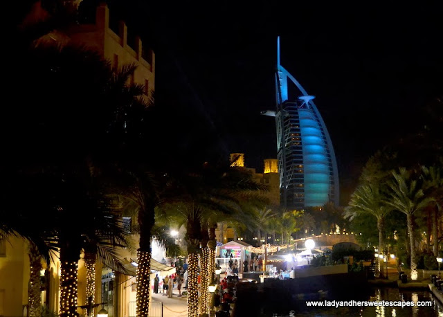 Burj Al Arab and Souk Madinat Jumeirah