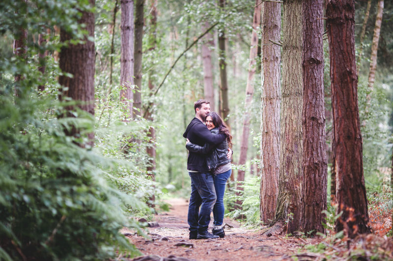 Pre-Wedding Photo Session In Delamere Forest #weddingwednesday