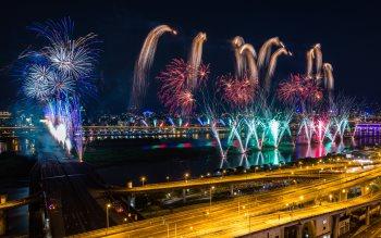 Wallpaper: Fireworks 4K Gallery