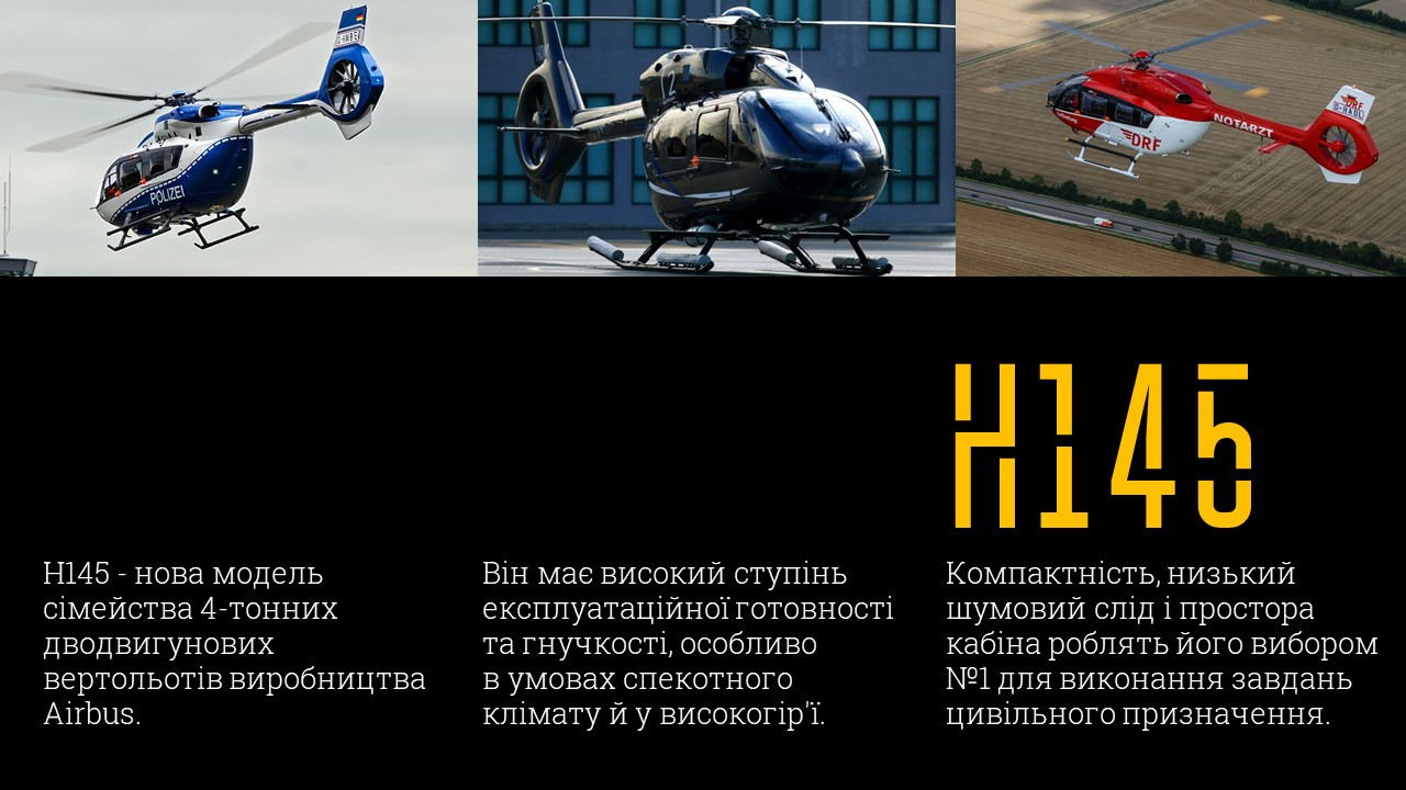 гелікоптери Airbus Helicopters H155