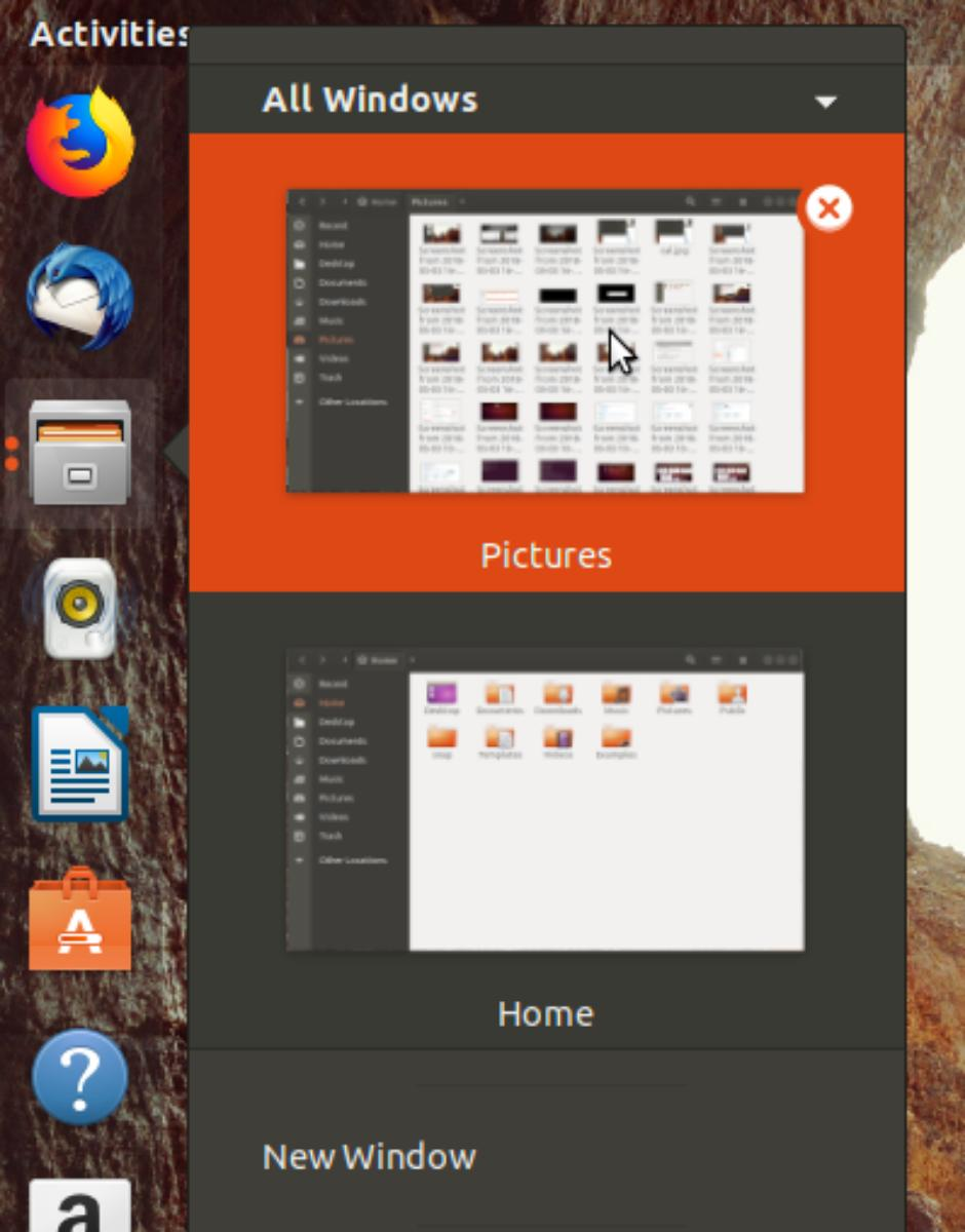 how to add application name to menu bar ubuntu 16.04