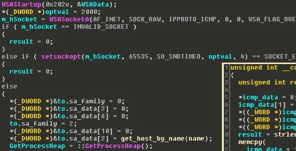 Sample C++ code