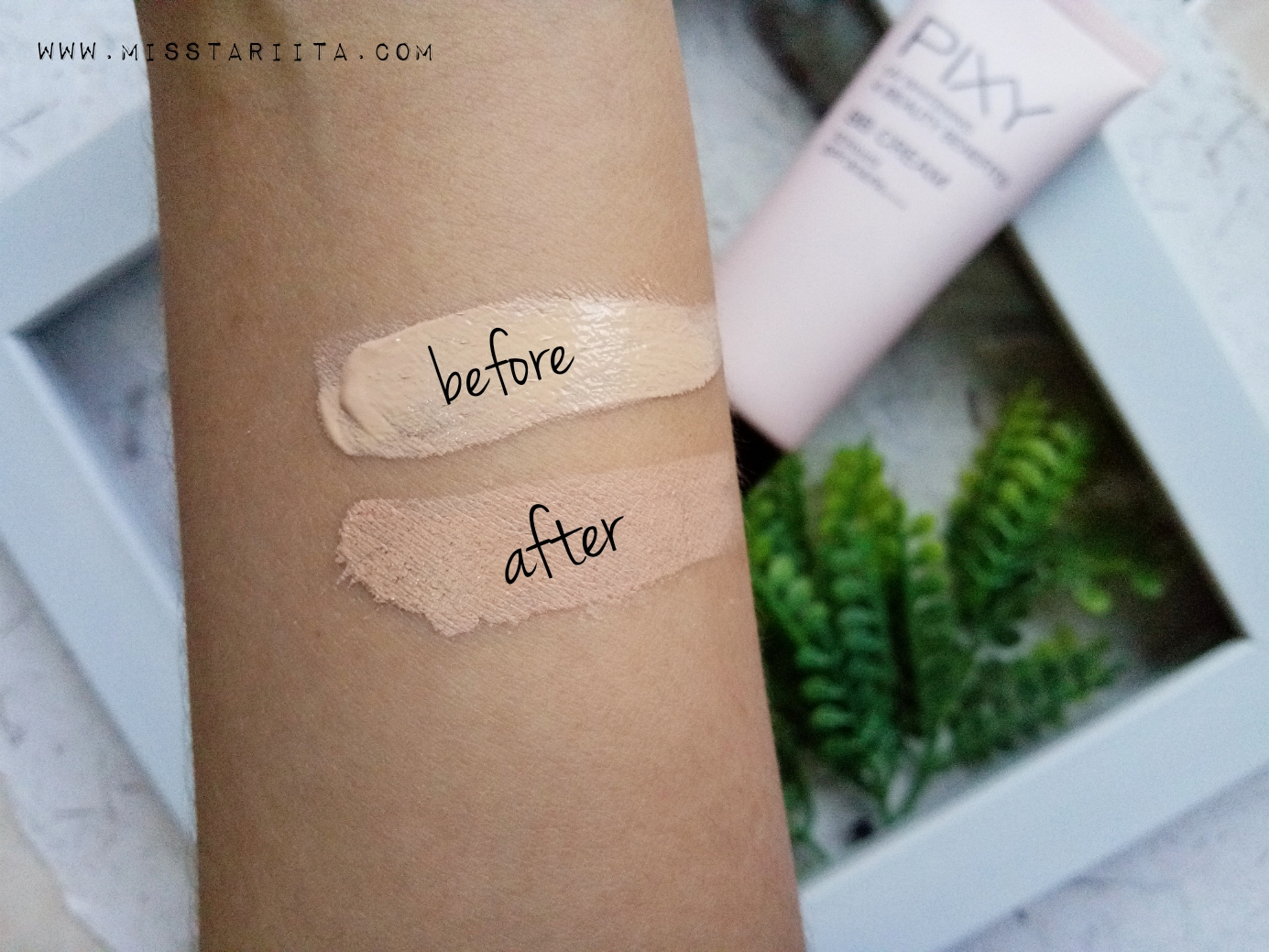 Review Pixy Bb Cream Uv Whitening 4 Beauty Benefits Spf 30 Shade Tetapi Ada Hal Lain Yang Kurang Aku Suka Dari Ini Setelah Selang Beberapa Jam Wajah Jadi Kelihatan Berpori Atau Pori Lebih Jelas