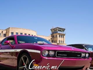 Dodge Challenger SRT Furious Fuchsia Airport Tower