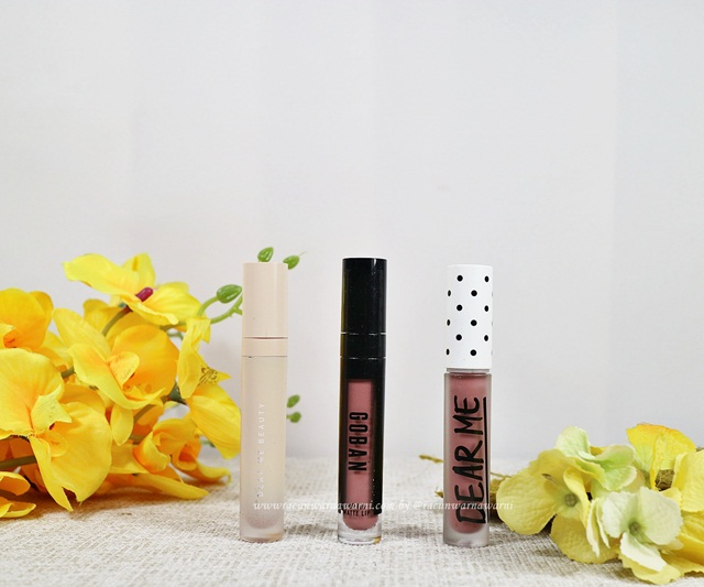 Swatch Lipstik Nude Pink Mauve Favorit