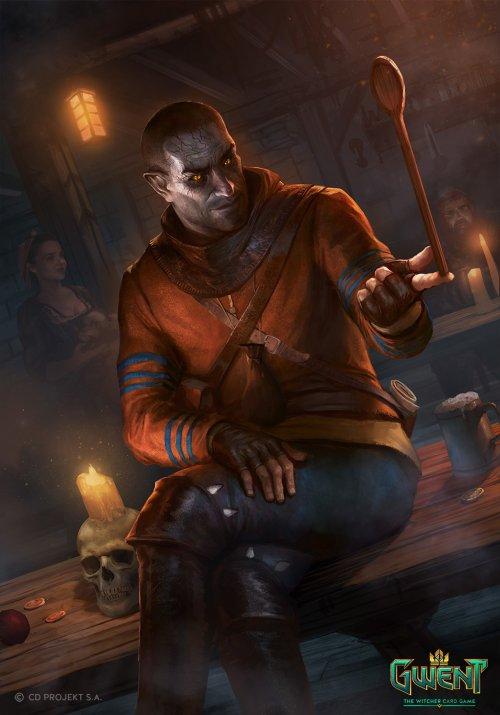 Nemanja Stankovic artstation deviantart arte ilustrações fantasia sombria games the witcher gwent
