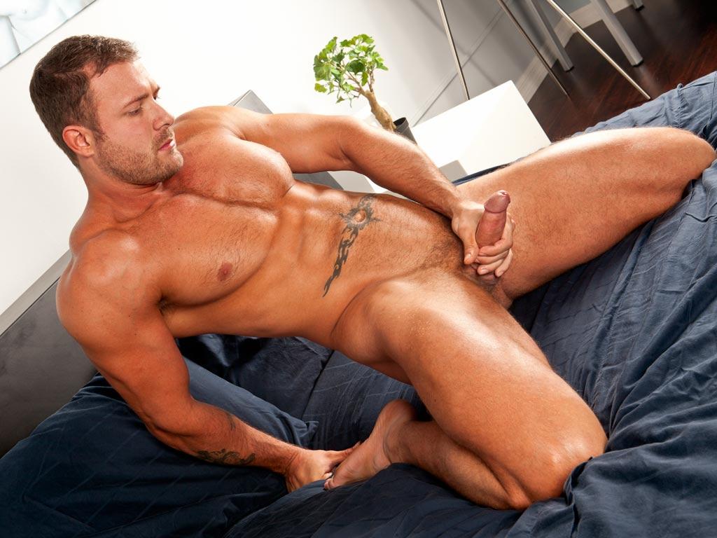 Handsome Sexy Hung Irish Guy Sam Syron Oozes Sex