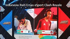 Indonesia Raih Emas eSport Clash Royale