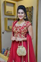 Jenny Honey in Stunning Dark Red Anarkali Dress at Splurge   Divalicious curtain raiser ~ Exclusive Celebrities Galleries 036.JPG