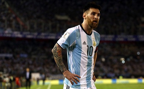 Đây đã là lần thứ 4 huyền thoại Lionel Messi không giúp được đội tuyển Argentina lên ngôi vô địch giải Copa America.
