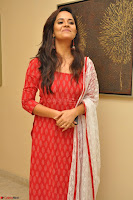 Anusuya in Red at Kalamandir Foundation 7th anniversary Celebrations ~  Actress Galleries 043.JPG