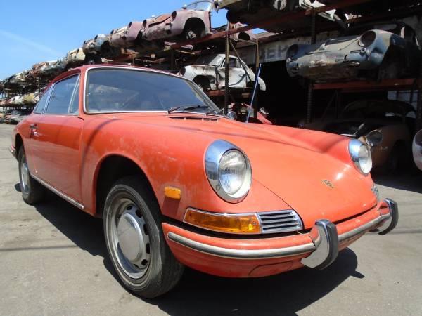 1968 Porsche 911 USA Coupe Karmann Project Car for Restoration