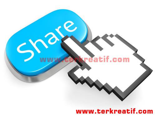 Cara pasang tombol share sosial media