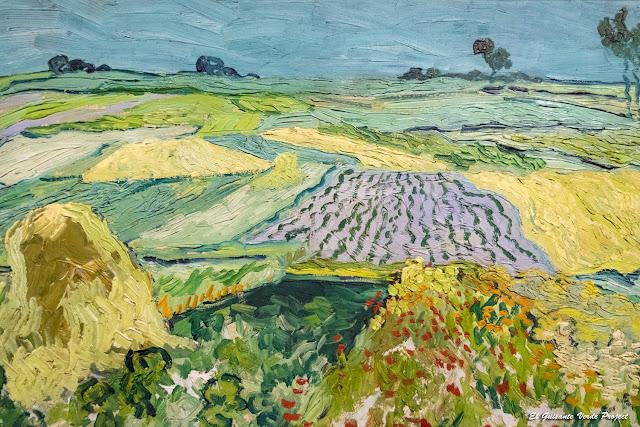 Van Gogh, La Llanura de Auvers - Museo Belvedere, Viena por El Guisante Verde Project