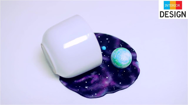 DIY Universe In A Cup Miniature Cosmos With Galaxies 2