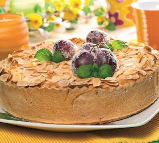 Citrininis pyragas su vynuogėmis