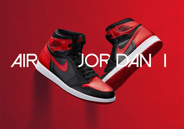 Air Jordan 1 Hi OG Bred launch