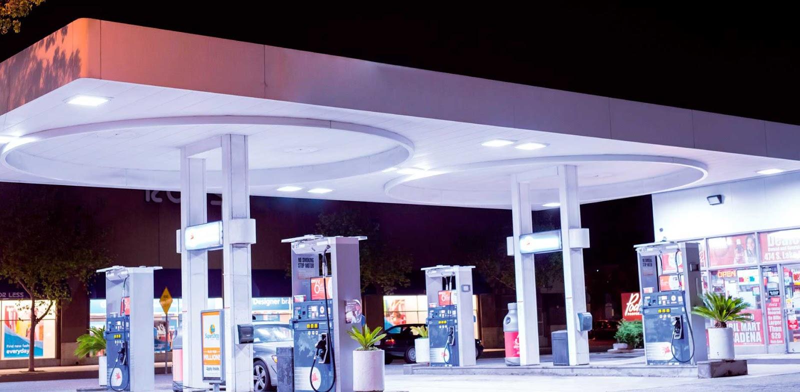 Instalaciones eléctricas residenciales - Gasolinera