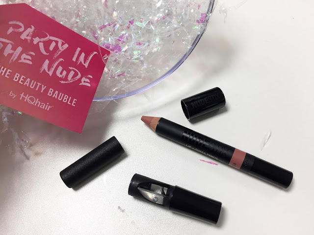 Party In The Nude HQhair Beauty Bauble Nudestix Lip and Cheek Pencil in Whisper
