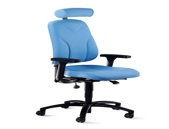best blue ergonomic office chairs Dadar for sale discount