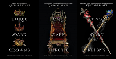 Image result for three dark crown series