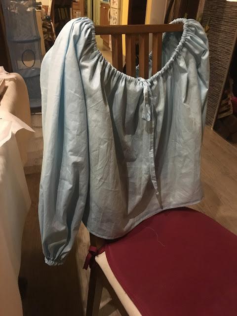 blouse bleue cosplay ariel agathe diary
