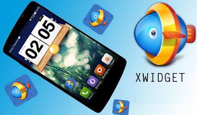 download Widget Kustomisasi Terbaik XWidget Apk v1.1 For Android Versi Terbaru