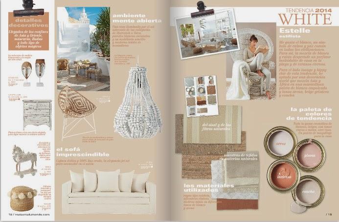 página de la revista