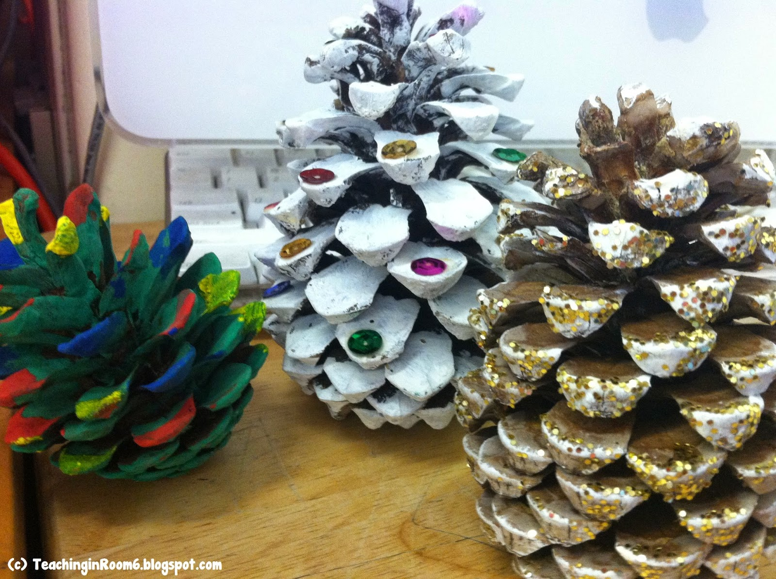 Pinecone Parent Holiday Gift | Teaching in Room 6