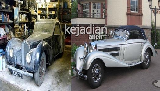 dijual mobil antik 11 Temuan Mobil Klasik Termahal Dunia yang Jadi Rongsokan