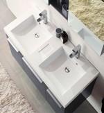 meuble de salle de bain vasque en marbre artificiel