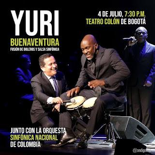 Sinfónica Nacional con Yuri Buenaventura