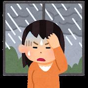 天気痛のイラスト