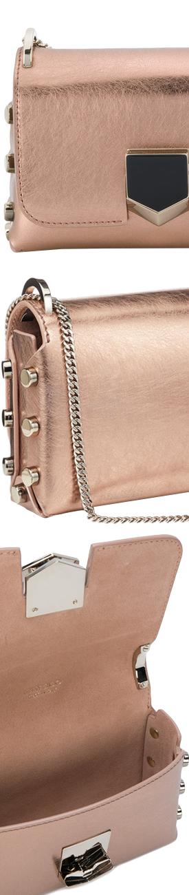 JIMMY CHOO Lockett Mini Shoulder Bag