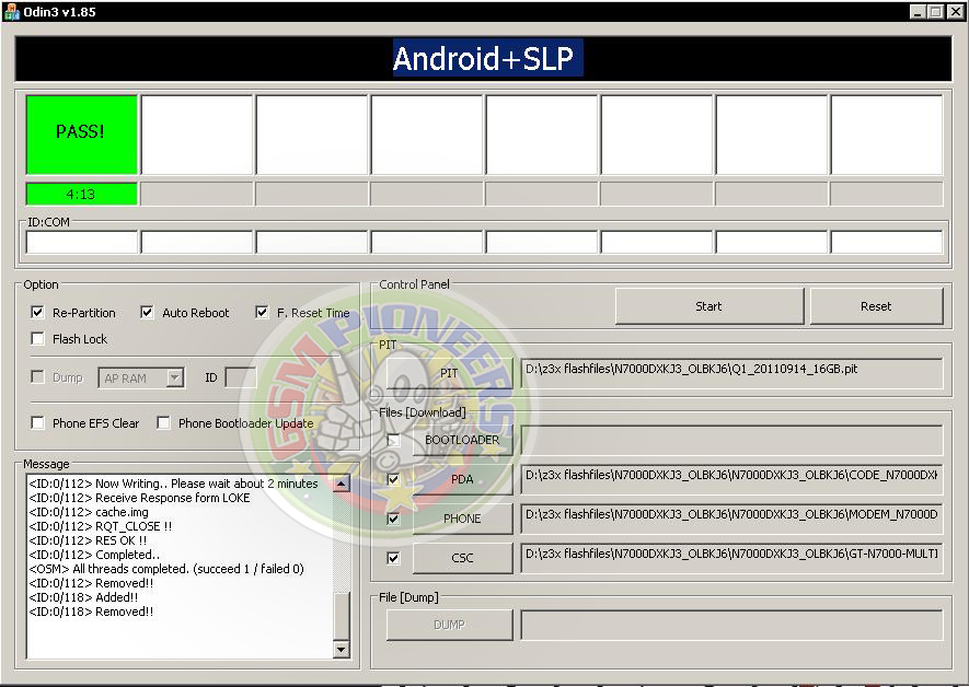 yaps-: Samsung Galaxy Note N7000 Hang Revived by ODIN