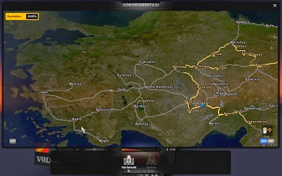 Euro Truck Simulator 2 Türkiye Haritası - Modu İndir