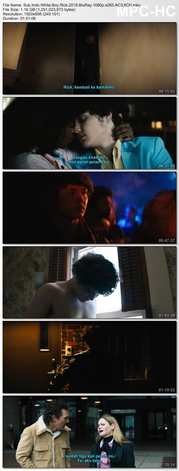 Screenshots Download Cocaine - La vera storia di White Boy Rick (2018) BluRay 480p & 3GP Subtitle Indonesia