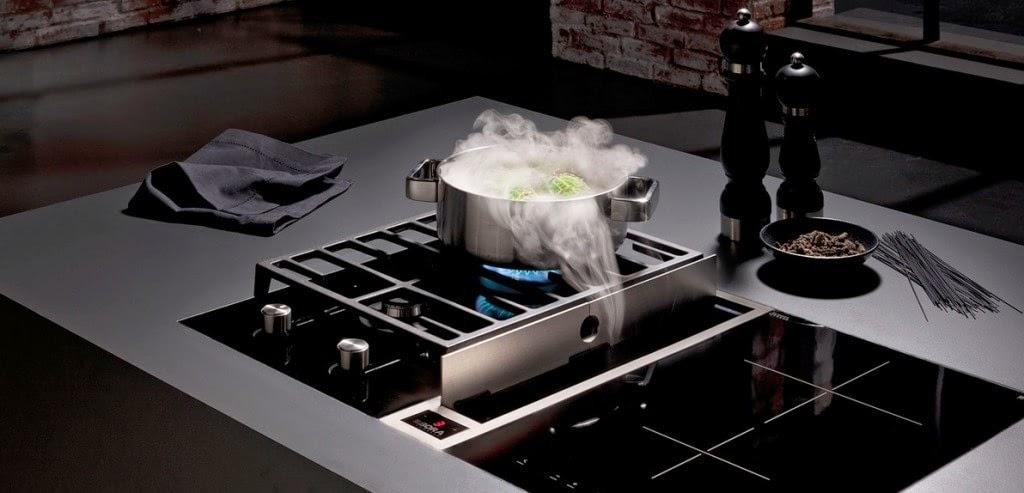 Extractor integrado en la cocina una alternativa a la