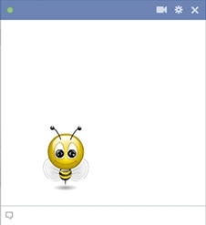 Bee Emoticon For Facebook